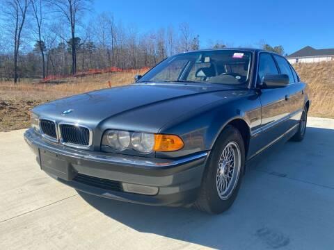 1999 BMW 7 Series for sale at El Camino Auto Sales in Sugar Hill GA
