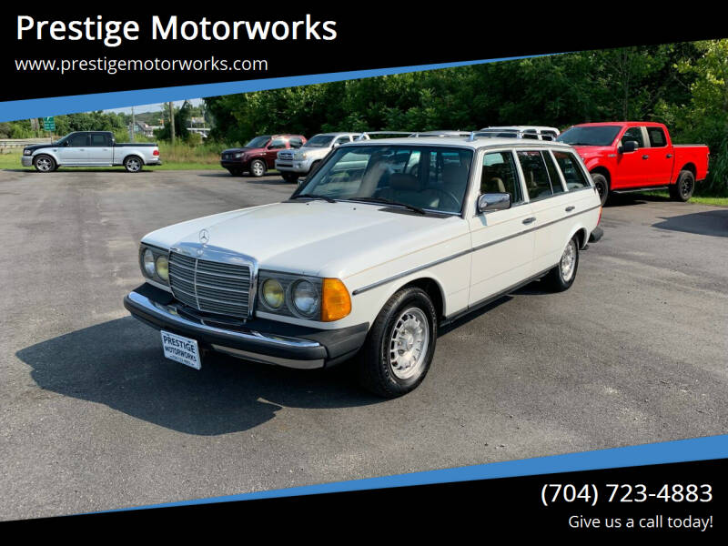 1985 Mercedes-Benz 300-Class for sale at Prestige Motorworks in Concord NC