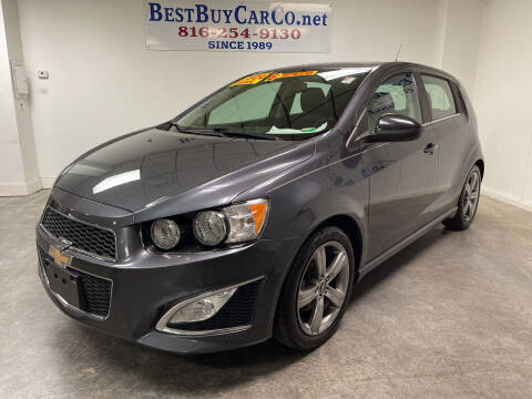 2013 Chevrolet Sonic for sale at Best Buy Car Co in Independence MO