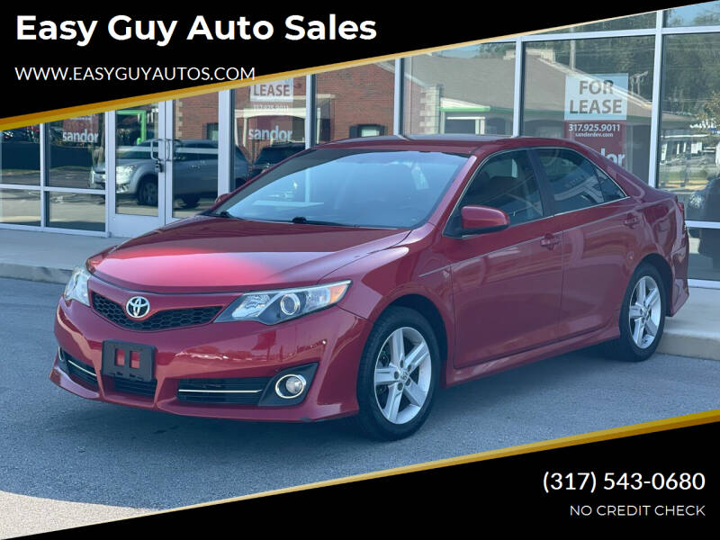 2012 Toyota Camry for sale at Easy Guy Auto Sales in Indianapolis IN