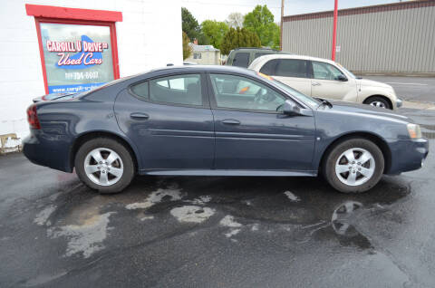 2008 Pontiac Grand Prix for sale at CARGILL U DRIVE USED CARS in Twin Falls ID