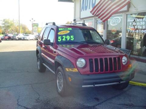 2006 Jeep Liberty for sale at G & L Auto Sales Inc in Roseville MI