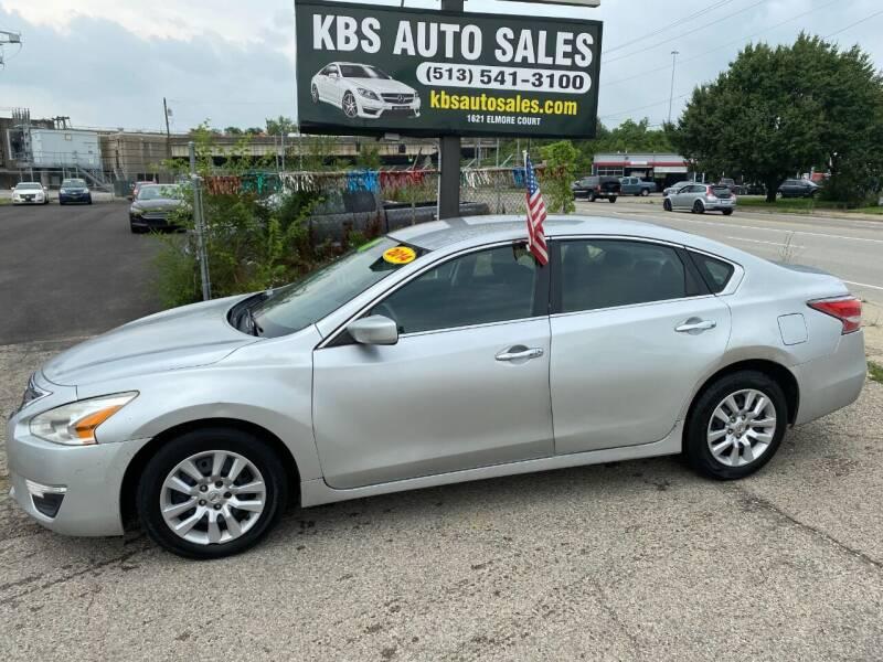2014 Nissan Altima for sale at KBS Auto Sales in Cincinnati OH