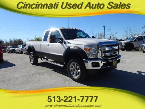 2016 Ford F-250 Super Duty for sale at Cincinnati Used Auto Sales in Cincinnati OH