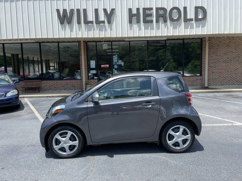 2014 Scion iQ for sale at Willy Herold Automotive in Columbus GA