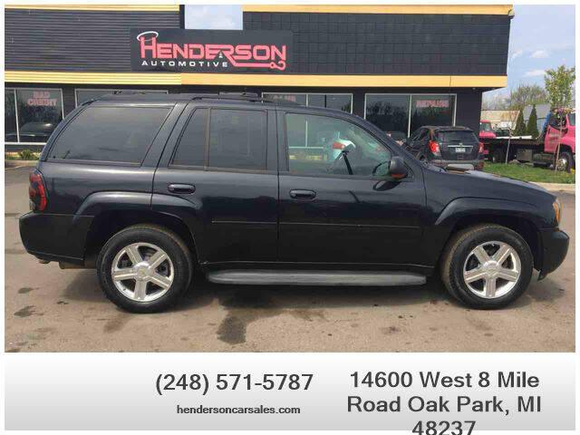 2008 Chevrolet TrailBlazer for sale at Henderson Automotive, LLC in Oak Park MI