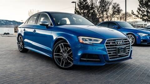 2017 Audi S3 for sale at MUSCLE MOTORS AUTO SALES INC in Reno NV