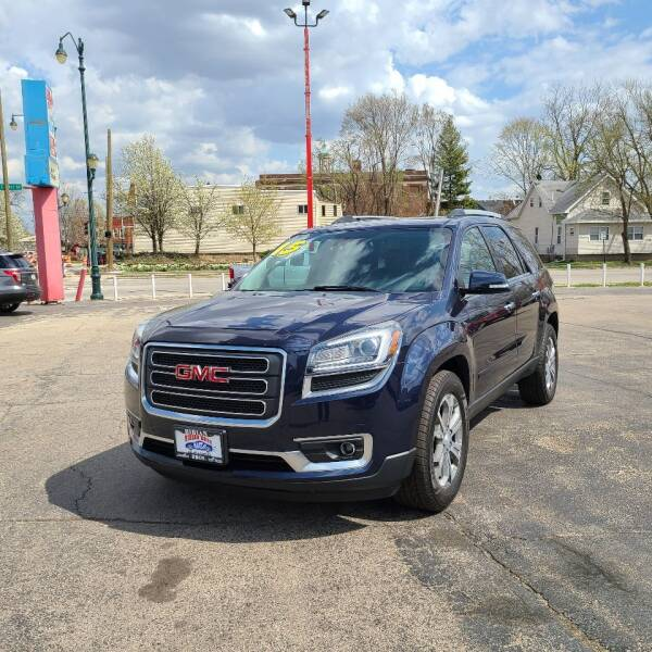 2015 GMC Acadia for sale at Bibian Brothers Auto Sales & Service in Joliet IL