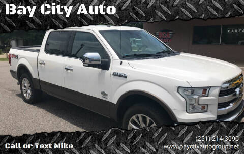 2015 Ford F-150 for sale at Bay City Auto's in Mobile AL