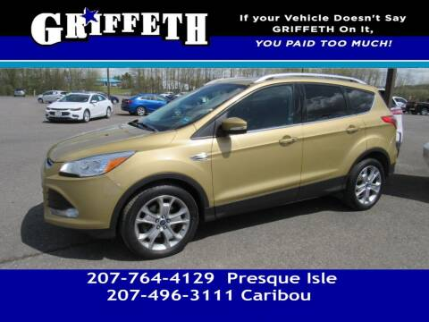 2014 Ford Escape for sale at Griffeth Mitsubishi - Pre-owned in Caribou ME