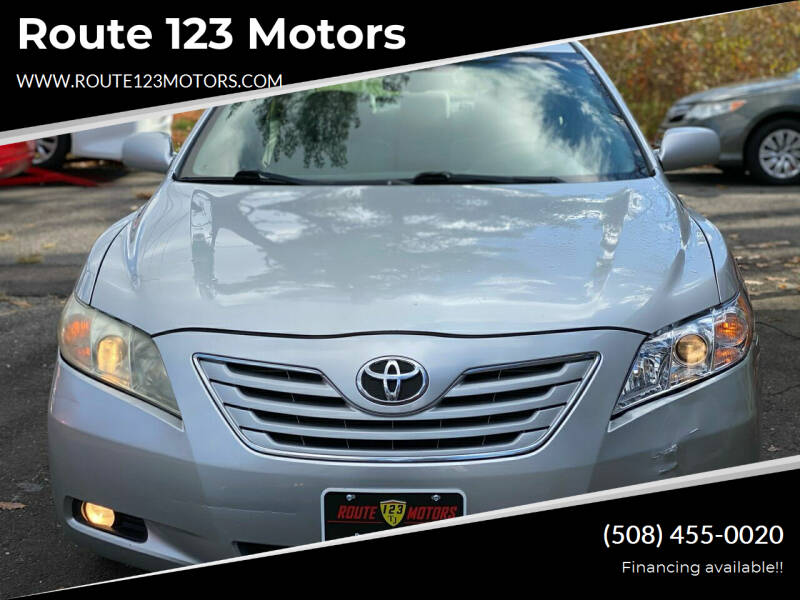 2009 Toyota Camry for sale at Route 123 Motors in Norton MA