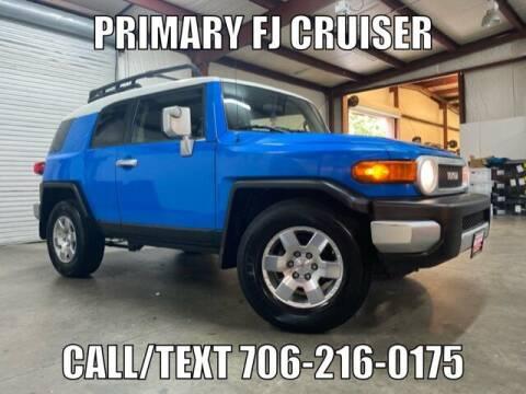 2008 Toyota FJ Cruiser for sale at Primary Auto Group in Dawsonville GA