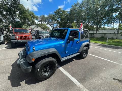 2015 Jeep Wrangler for sale at Bay City Autosales in Tampa FL