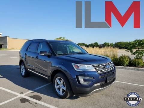 2017 Ford Explorer for sale at INDY LUXURY MOTORSPORTS in Fishers IN