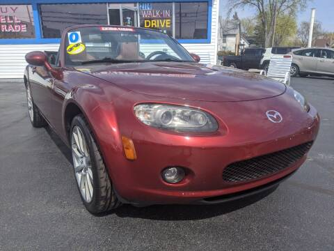 2006 Mazda MX-5 Miata for sale at GREAT DEALS ON WHEELS in Michigan City IN