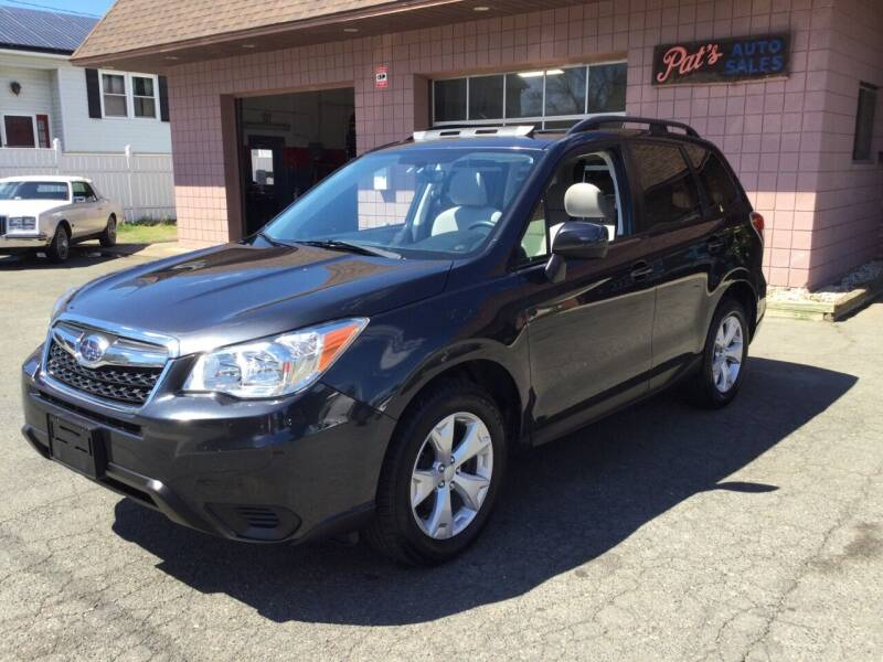 2015 Subaru Forester for sale at Pat's Auto Sales, Inc. in West Springfield MA