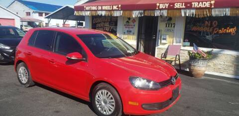 2013 Volkswagen Golf for sale at ANYTHING ON WHEELS INC in Deland FL