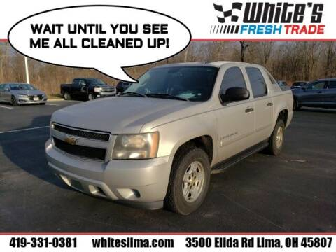 2007 Chevrolet Avalanche for sale at White's Honda Toyota of Lima in Lima OH