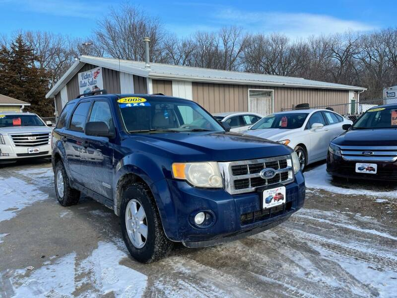 2008 Ford Escape for sale at Victor's Auto Sales Inc. in Indianola IA