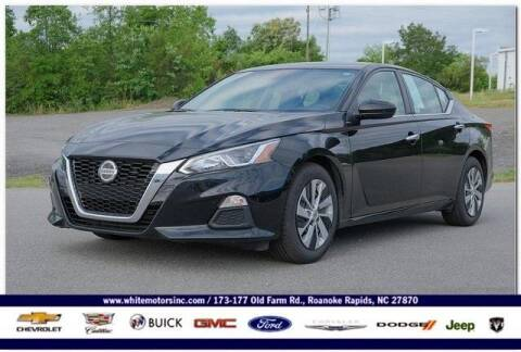 2020 Nissan Altima for sale at WHITE MOTORS INC in Roanoke Rapids NC