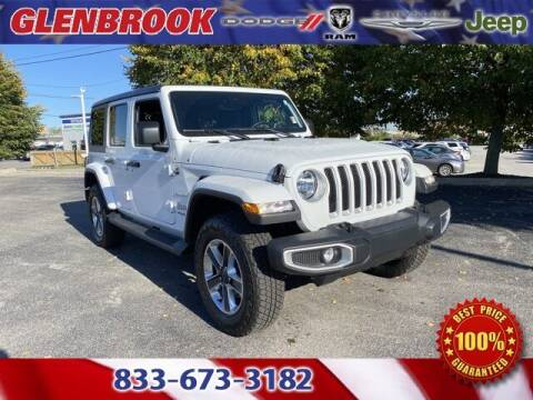 2020 Jeep Wrangler Unlimited for sale at Glenbrook Dodge Chrysler Jeep Ram and Fiat in Fort Wayne IN