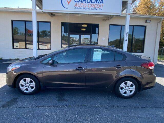 2017 Kia Forte for sale at Carolina Auto Credit in Youngsville NC