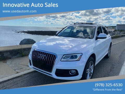 2016 Audi Q5 for sale at Innovative Auto Sales in North Hampton NH