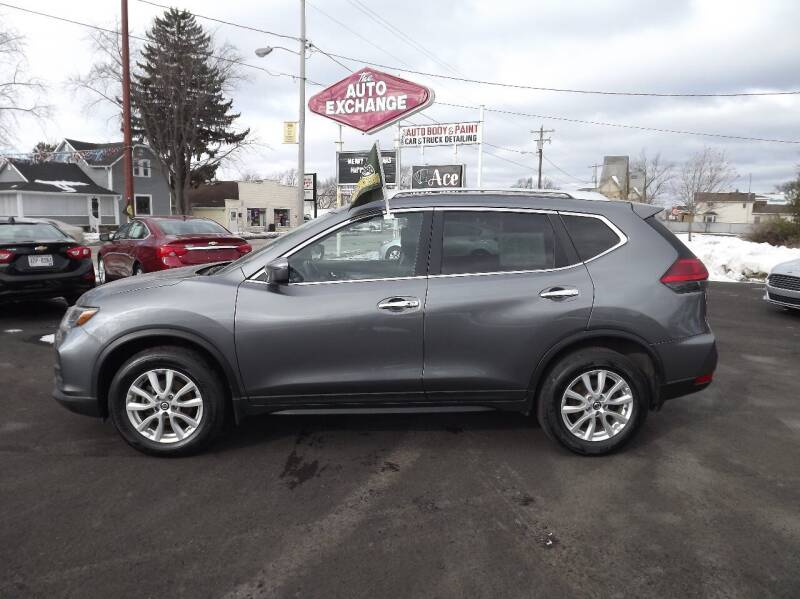 2017 Nissan Rogue for sale at The Auto Exchange in Stevens Point WI
