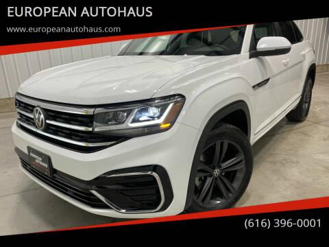 2021 Volkswagen Atlas Cross Sport for sale at EUROPEAN AUTOHAUS in Holland MI