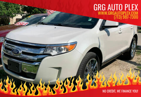 2012 Ford Edge for sale at GRG Auto Plex in Houston TX
