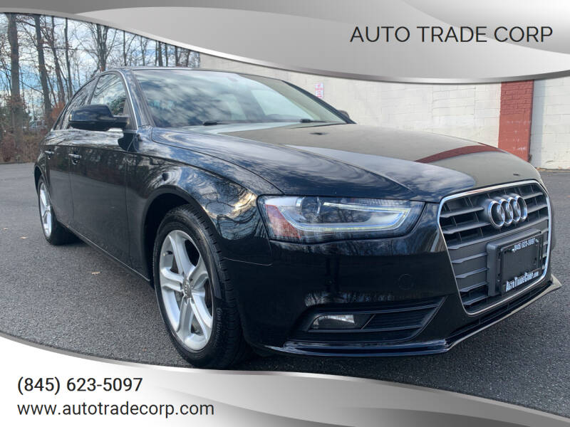 2013 Audi A4 for sale at AUTO TRADE CORP in Nanuet NY