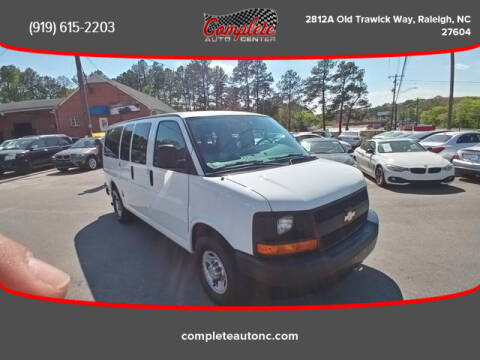 2011 Chevrolet Express Passenger for sale at Complete Auto Center , Inc in Raleigh NC