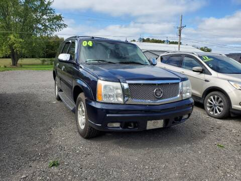 2004 Cadillac Escalade for sale at ALL WHEELS DRIVEN in Wellsboro PA