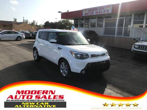 2016 Kia Soul for sale at Modern Auto Sales in Hollywood FL