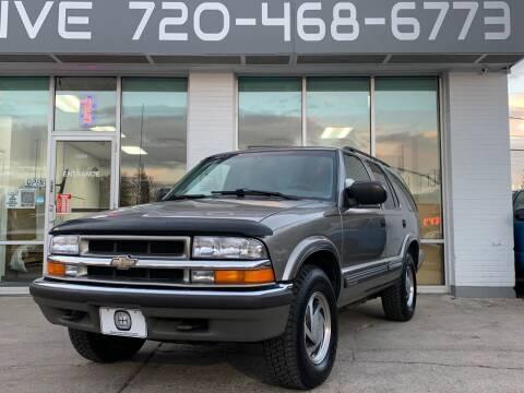 2000 Chevrolet Blazer for sale at Shift Automotive in Denver CO