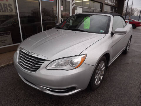 2011 Chrysler 200 Convertible for sale at Arko Auto Sales in Eastlake OH