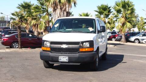 2013 Chevrolet Express Cargo for sale at Okaidi Auto Sales in Sacramento CA