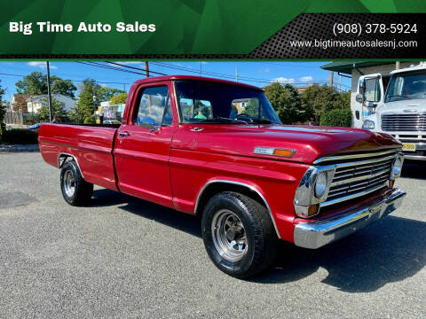 1968 Ford F-100 for sale at Big Time Auto Sales in Vauxhall NJ