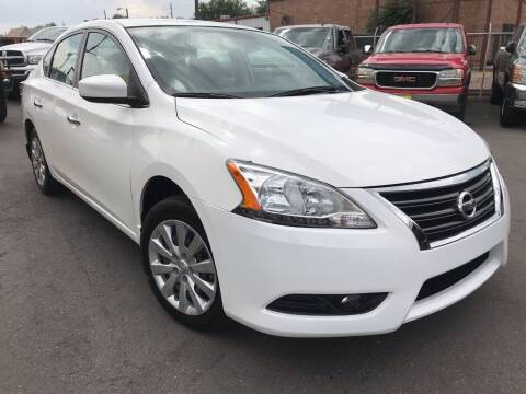 2015 Nissan Sentra for sale at New Wave Auto Brokers & Sales in Denver CO