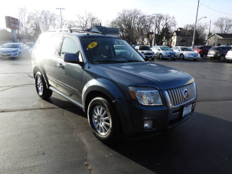 2010 Mercury Mariner for sale at Grant Park Auto Sales in Rockford IL