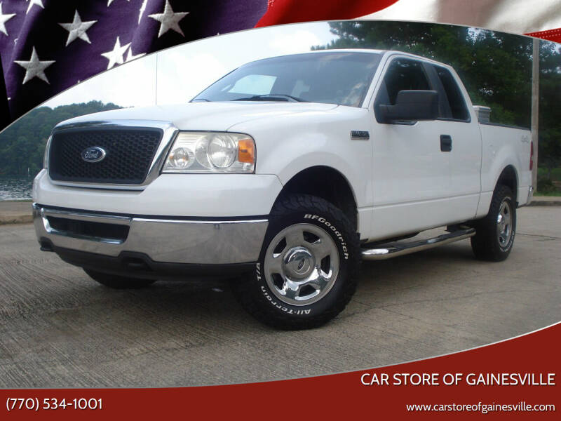 2007 Ford F-150 for sale at Car Store Of Gainesville in Oakwood GA