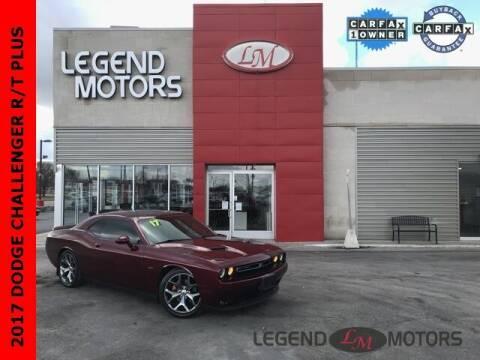2017 Dodge Challenger for sale at Legend Motors of Detroit - Legend Motors of Ferndale in Ferndale MI