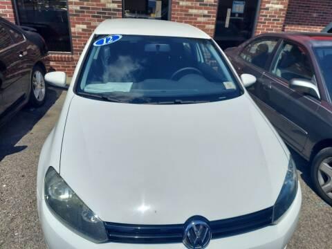 2012 Volkswagen Golf for sale at HW Auto Wholesale in Norfolk VA