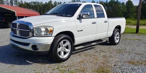 2008 Dodge Ram Pickup 1500 for sale at Jackson Automotive in Smithfield NC