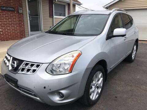 2012 Nissan Rogue for sale at Cooks Motors in Westampton NJ