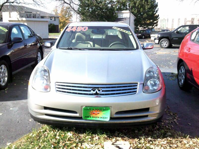2004 Infiniti G35 for sale at JIMS AUTO MART INC in Milwaukee WI
