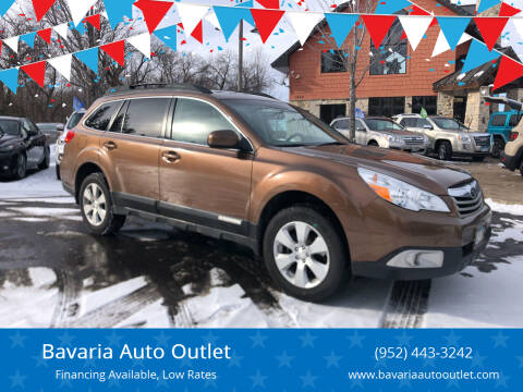 2011 Subaru Outback for sale at Bavaria Auto Outlet in Victoria MN