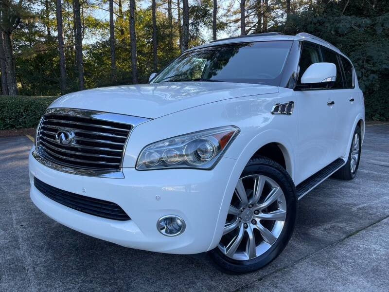 2013 Infiniti QX56 for sale at Selective Imports in Woodstock GA