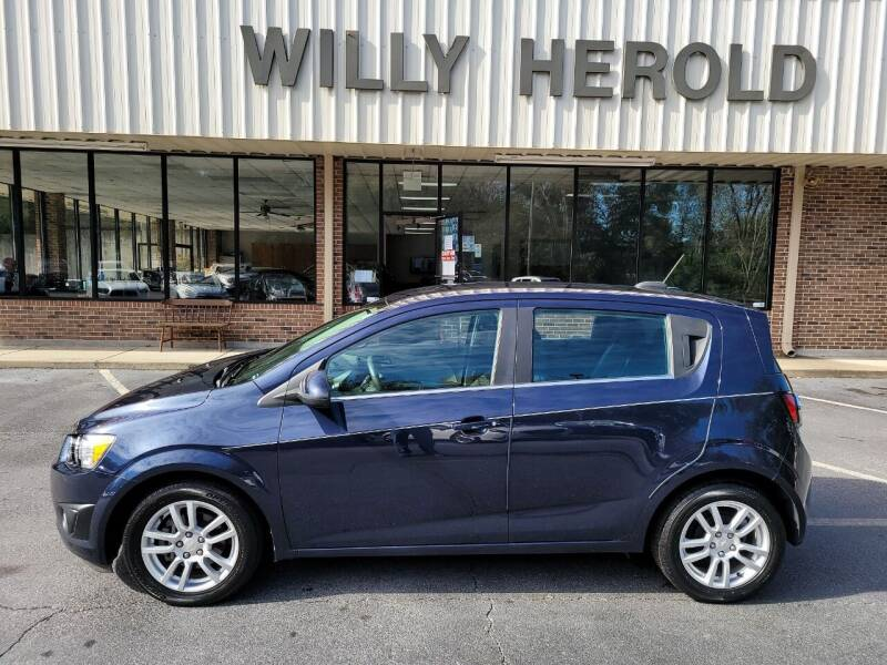 2015 Chevrolet Sonic for sale at Willy Herold Automotive in Columbus GA