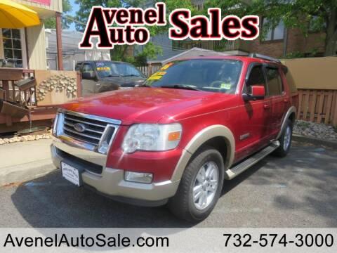 2006 Ford Explorer for sale at Avenel Auto Sales in Avenel NJ